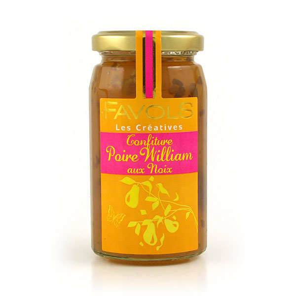 Confiture de poire Williams aux noix