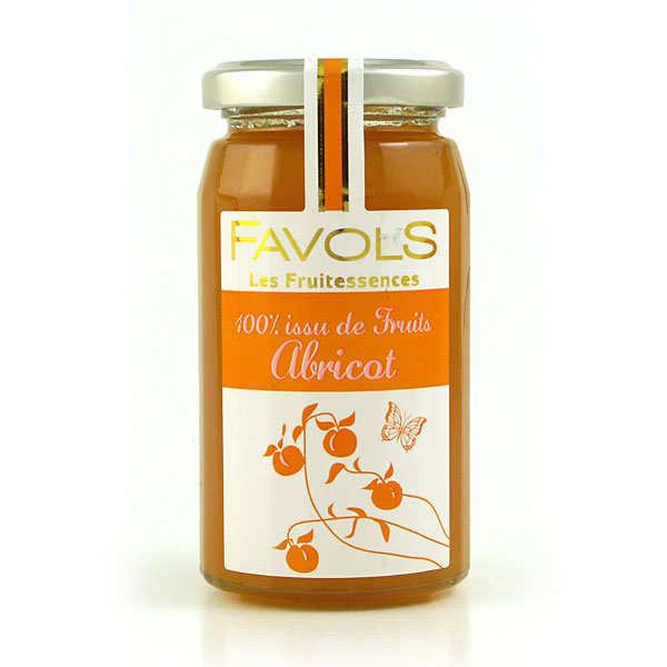 Confiture d'abricot 100% fruit - Les Fruitessences Favols