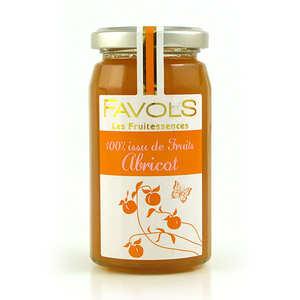 Favols - Confiture d'abricot 100% fruit - Les Fruitessences Favols