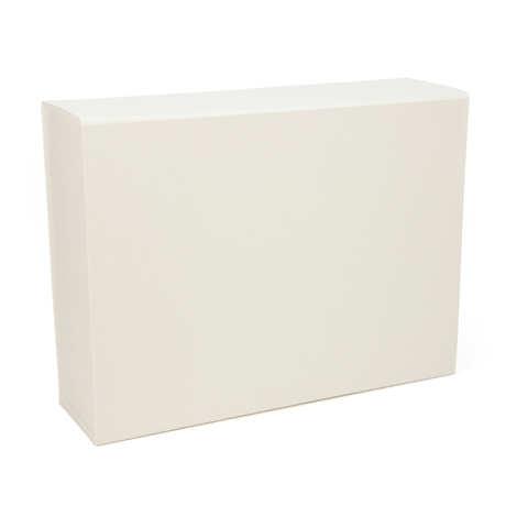 - Boite cadeau rectangle aimantée - blanche