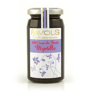 Favols - Confiture de myrtille 100% fruit - Les Fruitessences Favols