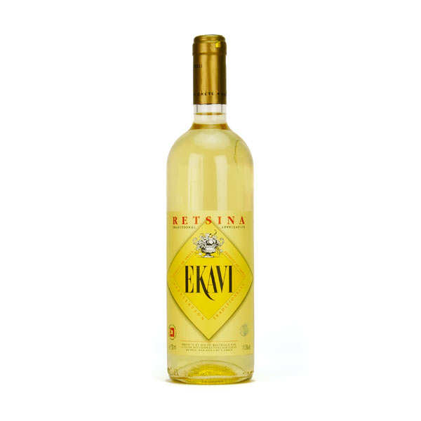 Retsina Ekavi vin Blanc