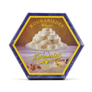 "Keramidas - Greek ""Kourabiedes"" Almond Biscuits"