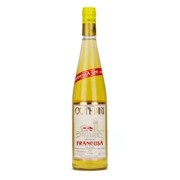 Cotnari Francusa vin blanc sec de Roumanie