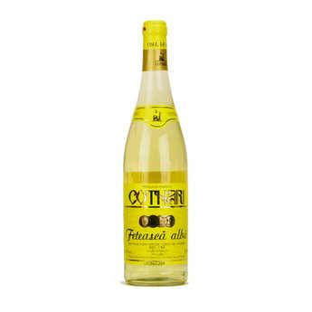 Cotnari - Romanian Cotnari Feteasca Alba Semi-Dry White Wine