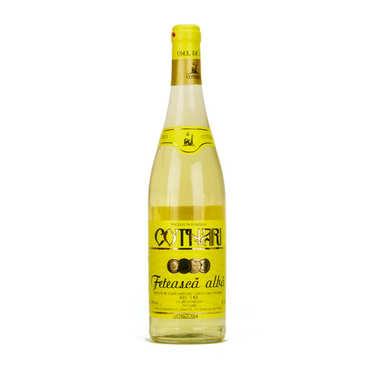 Romanian Cotnari Feteasca Alba Semi-Dry White Wine