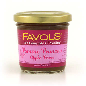 Favols - Les Compotes Favoline - Apple and Prune