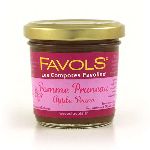 Les Compotes Favoline - Apple and Prune