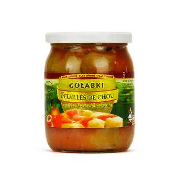 Polonia - Golabki - Feuilles de choux farcies à la polonaise