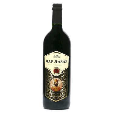 Car Lazar - Vin rouge de Serbie - 12%