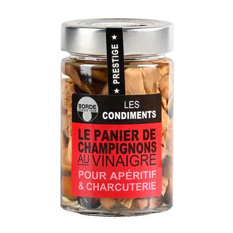 Borde - Basket of Mushrooms in Vinegar