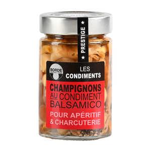 Borde - Champignons au condiment balsamique