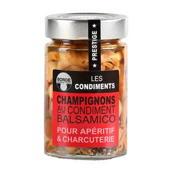 Borde - Mushrooms with Balsamic Condiment