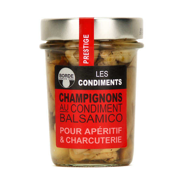 Champignons au condiment balsamique