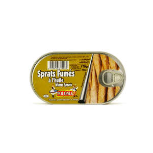 Polonia - Sprats fumés à l'huile
