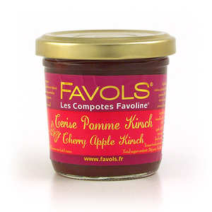 Favols - Les Compotes Favoline - Cherry, Apple & Kirsch