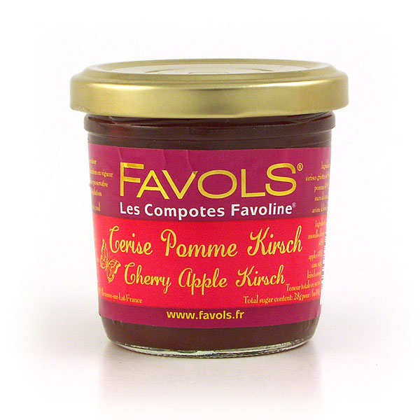 Les Compotes Favoline - Cherry, Apple & Kirsch