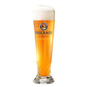 Paulaner - Verre à bière Paulaner Weissbier
