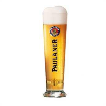 Paulaner - Verre à bière Paulaner Munchen - flute 50cl