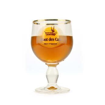 Abbaye Mont des Cats - Verre à bière Mont des Cats - calice 33cl