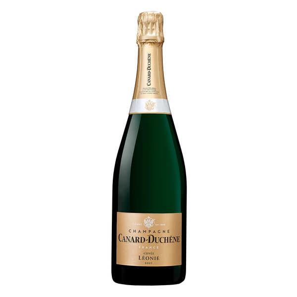 Champagne canard duchêne cuvée léonie brut - bouteille 37.5cl