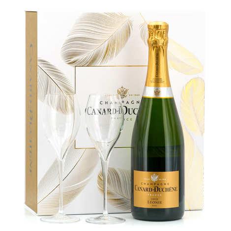 Champagne Canard-Duchêne - Coffret de Champagne Cuvée Léonie Brut