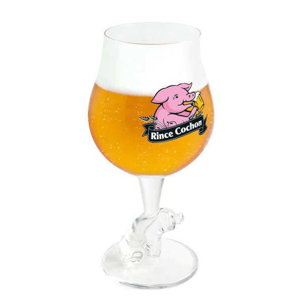 Verre à bière Rince Cochon