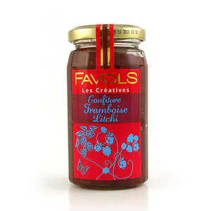 Favols - Les Créatives - raspberry and litchi jam