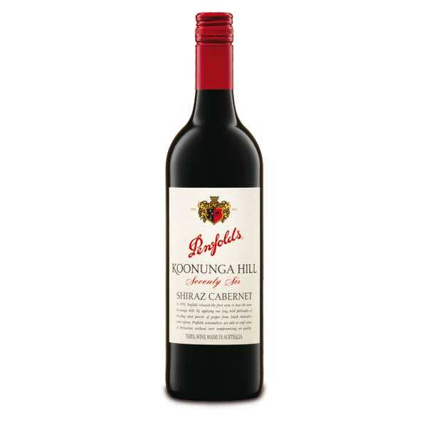 Koonunga Hill Shiraz Cabernet Red Wine - Penfolds