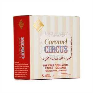 Ky Drinks - Caramel Circus - Genmaicha Green Tea Caramel Cocoa