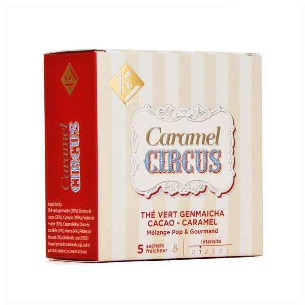 Caramel Circus - Thé vert Genmaicha cacao caramel