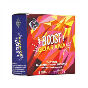 Ky Drinks - Boost Guarana - Grapefruit Green Tea