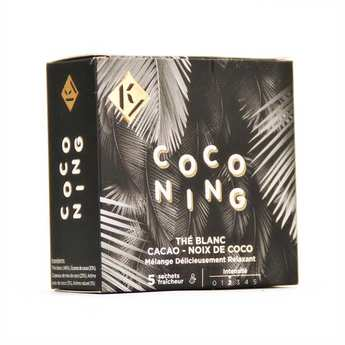 Ky Drinks - Coconing - Thé blanc coco cacao
