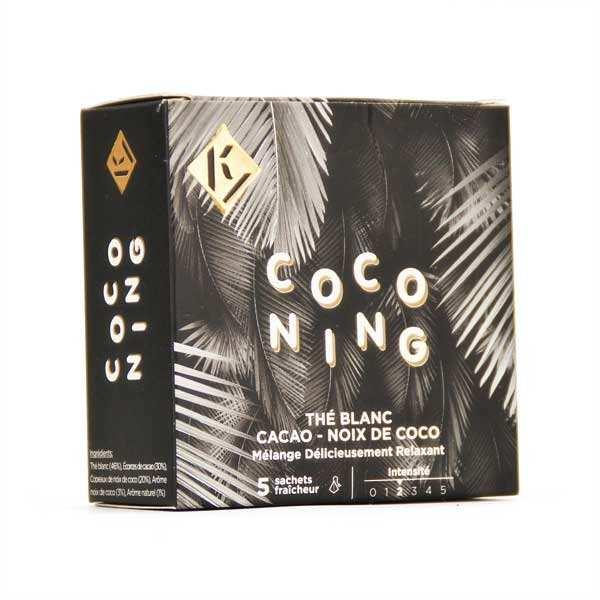 Coconing - Thé blanc coco cacao