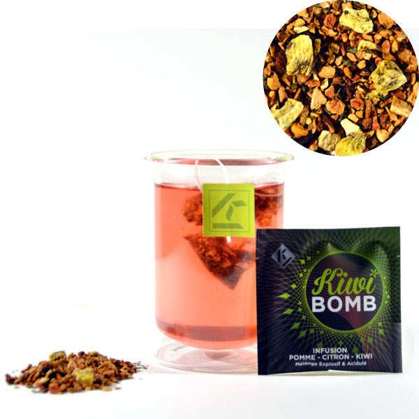 Kiwi Bomb - Infusion pomme kiwi citron