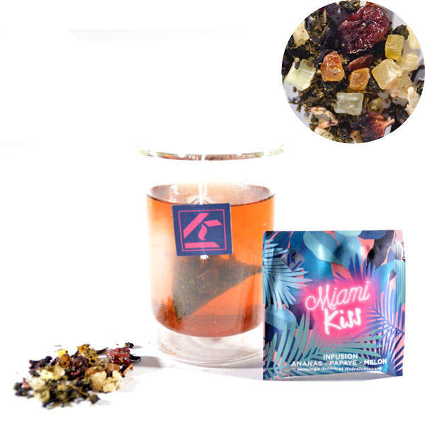 Miami Kiss - Melon Papaya and Pineaple Infusion
