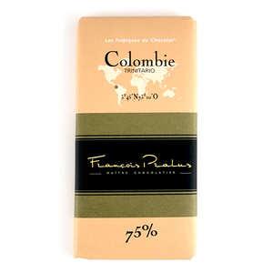 Chocolats François Pralus - Tablette Colombie Pralus 75%