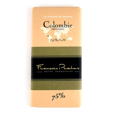 Colombian chocolate bar Pralus