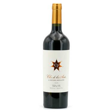 Vin argentin rouge Clos De Los Siete