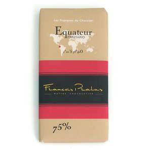 Chocolats François Pralus - Tablette Equateur Pralus bio 75%