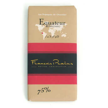 Chocolats François Pralus - Tablette Equateur Pralus 75%