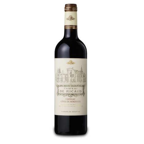 Vignobles Dourthe - Château de Ricaud AOC Cadillac - Côtes de Bordeaux - Vin rouge