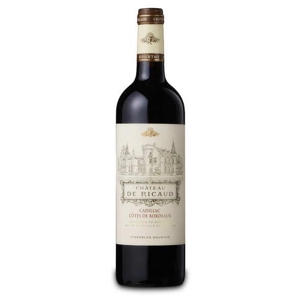 Château de ricaud aoc cadillac - côtes de bordeaux - 2011 - bouteille 75cl