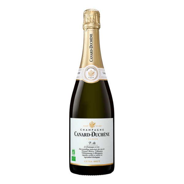 Champagne canard duchêne parcelle 181 extra brut bio - bouteille 75cl