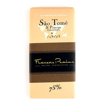 Sao Tome chocolate bar Pralus
