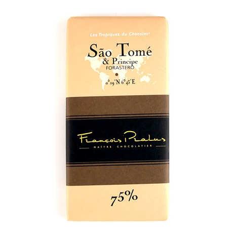 Chocolats François Pralus - Tablette Sao Tome - Forastero 75%