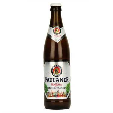White Weissbier Kristallklar Paulaner Beer 5.2%