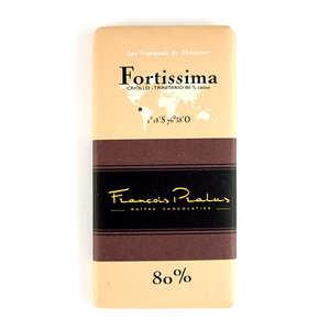 Chocolats François Pralus - Tablette Fortissima Pralus 80%