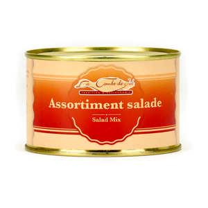 La combe de Job - Assortiment salade périgourdine