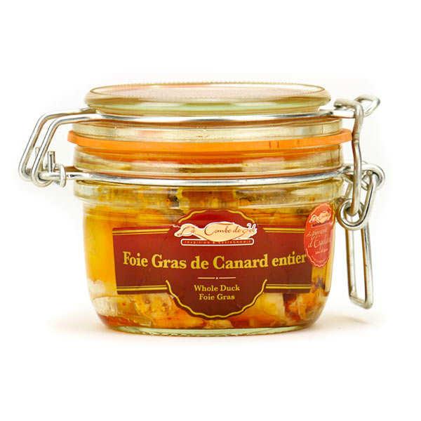 Foie gras de canard entier sans sel au Piment d'Espelette